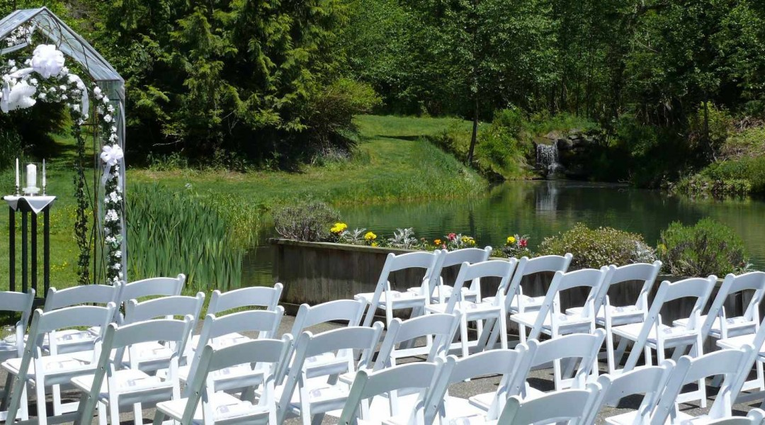 The affordable, budget friendly wedding venue is only 2 hours from Seattle